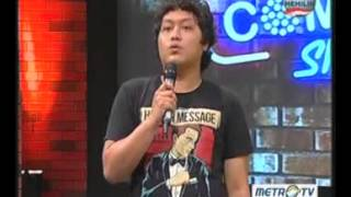 Stand Up Comedy Metro TV Edisi Rabu 17 April 2013 Part 3