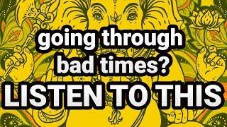 POWERFUL GANESHA Mantra For Bad Times   Om Gan Ganapathaye Namaha Mantra