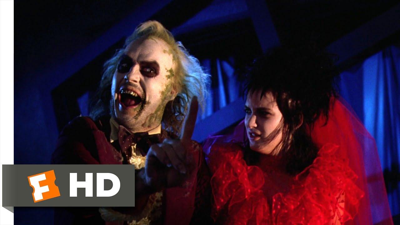 Beetlejuice (9/9) Movie CLIP - Til Death Do Us Part (1988) HD