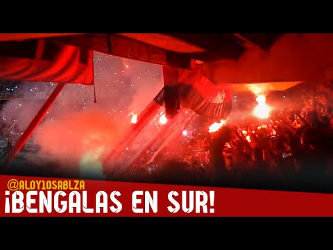 Bengalas en sur - Frente Rojiblanco, GRAN FINAL-Junior vs Dim 2016 - Frente Rojiblanco Sur - Junior de Barranquilla