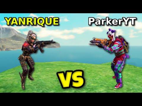 PARKER vs YANRIQUE FULL GAME!! | CALL OF DUTY MOBILE | SOLO VS SQUADS