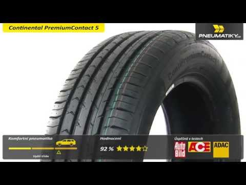 Youtube Continental PremiumContact 5 185/60 R15 88 H XL Letní