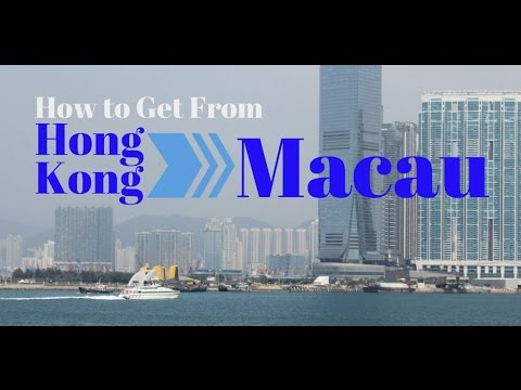 How To Get The Hong Kong To Macau Ferry - Important Info For Travellers