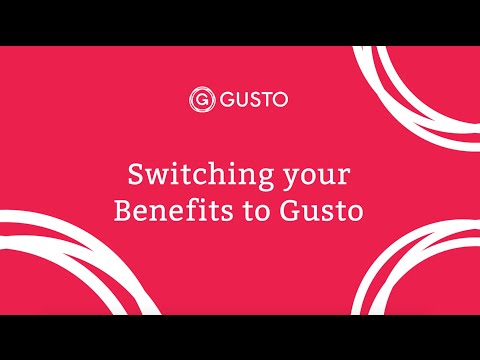 Benefits with Gusto