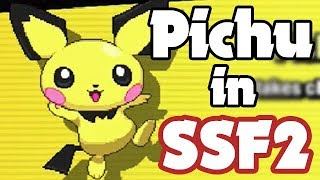 Pichu Revealed for SSF2 At Smashcon 2017!