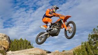 2. 2009 KTM 450 XC-W Bike Test