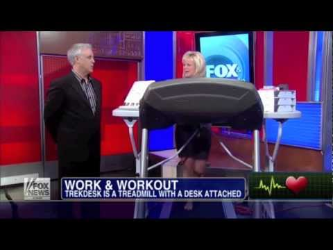 Why is Exercise with a TrekDesk Treadmill Desk Catching On at Work?