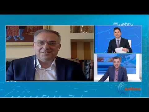Ο Υπουργός Εσωτερικών Τ.Θεοδωρικάκος για τα Laptop στα σχολεία   08/04/2020   ΕΡΤ