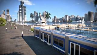 Video Animation of the futuristic city near Baku - Khazar Islands MP3, 3GP, MP4, WEBM, AVI, FLV Juni 2018