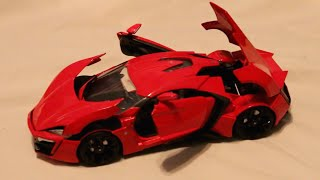 Nonton Review - 1:18 Scale Jada Lykan Hypersport - Fast & Furious 7 Film Subtitle Indonesia Streaming Movie Download