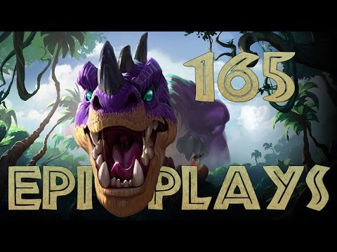 Epic Hearthstone Plays #165 (and Emote Song Winner) (видео)