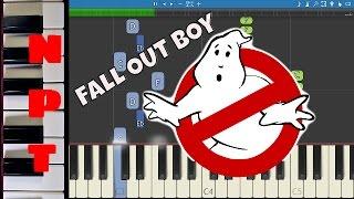 Video Fall Out Boy - Ghostbusters (I'm Not Afraid) Piano Tutorial ft. Missy Elliott MP3, 3GP, MP4, WEBM, AVI, FLV April 2018