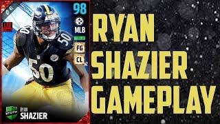 TOTW 98 Overall Ryan Shazier Gameplay and Review - Madden Ultimate Team 17