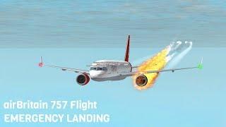 ROBLOX | airBritain Flight EMERGENCY LANDING