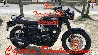 10. The New Bonneville T120 Black - Ride & Review
