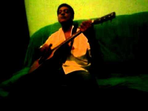 nivaldo cantando em Muniz Freire-Es