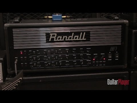 Randall's 667 amp and all-metal pedals [NAMM 2014]