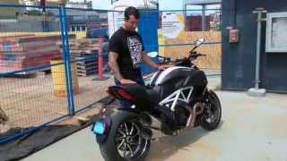 10. Ducati Diavel Carbon 2015 mini Review