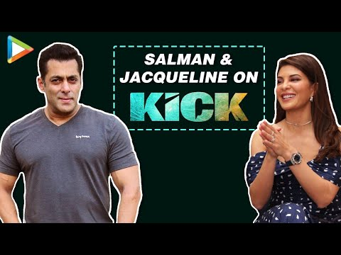 SALMAN - Salman Khan and Jacqueline Fernandes in the first part of their Bollywood Hungama exclusive with Content Head Broadband Faridoon Shahryar talk about what makes their pairing click in Kick....
