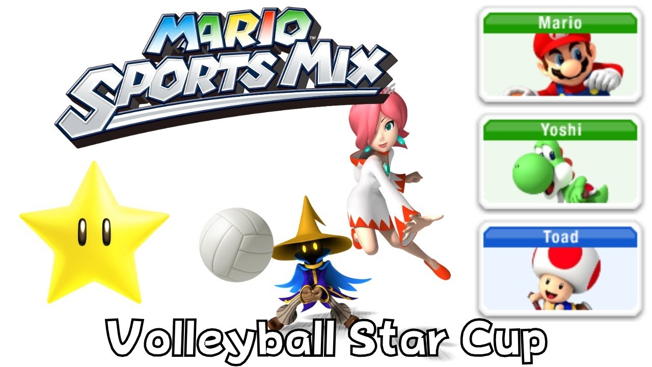 Mario Sport Mix – Volleyball – Star Cup