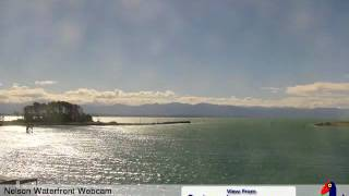 Nelson Waterfront Webcam Monday 14th December 2009