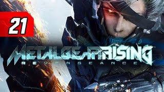 Metal Gear Rising Revengeance Walkthrough - Part 21 City Escape Let's Play Gameplay Commentary