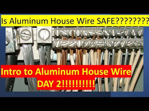 Intro to Aluminum House Wire DAY 2 (60's* - 70's*) On the Electricians in Action Everyday @ 9:00 am
