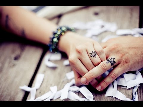 12 Cool Wedding Ring Tattoo Design Ideas [Video]