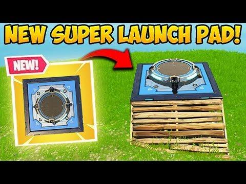 *NEW* SUPER LAUNCH PAD! - Fortnite Funny Fails and WTF Moments! #332 (видео)