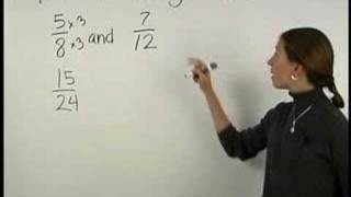 Comparing Fractions - MathHelp.com - Pre Algebra Help