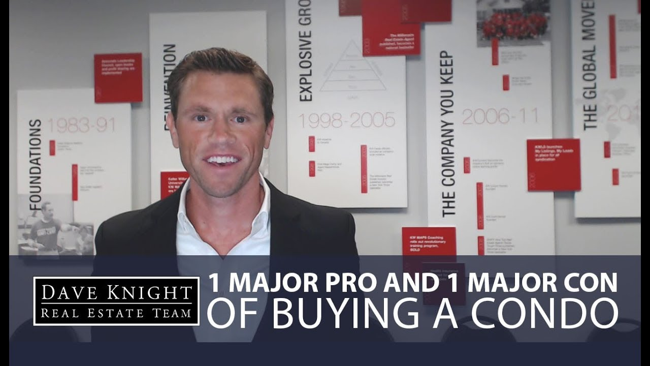 Weighing the 1 Major Pro and the 1 Major Con of Buying a Condo