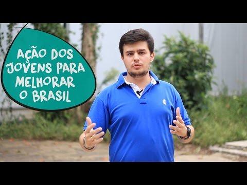 Philipp Bento: ação dos jovens para melhorar o Brasil