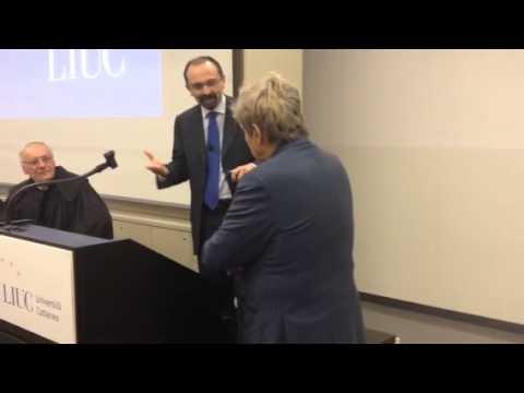 Uto Ughi alla Liuc e la battuta su Renzi