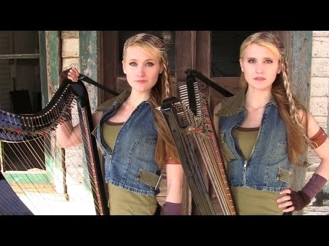 "Bear Mccreary  ""Walking Dead Theme"" Cover by Camille & Kennerly Kitt"