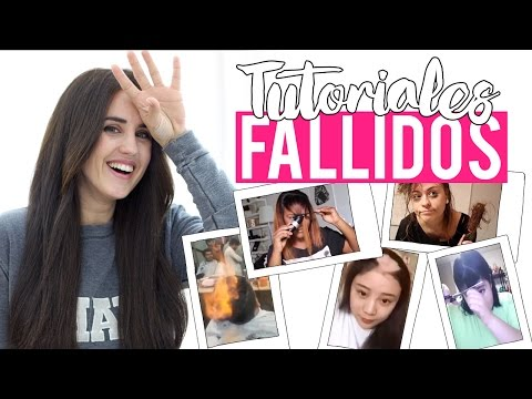 TUTORIALES FALLIDOS DE INTERNET | HAIR FAILS COMPILATION