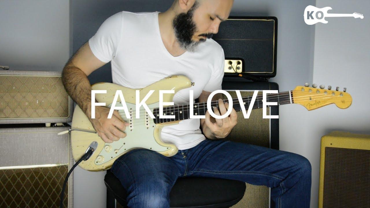 BTS (방탄소년단) – Fake Love – Electric Guitar Cover by Kfir Ochaion
