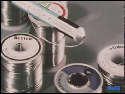 How to solder - Basic Soldering for Electronics Lesson 1 -