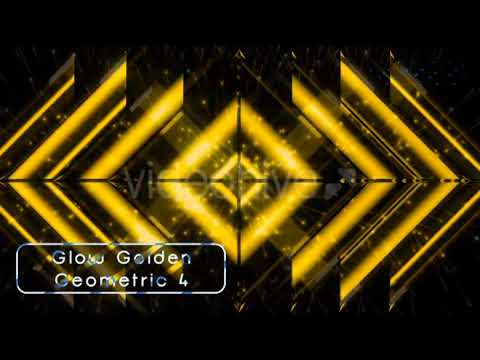 Golden Glow Geometric 21147428