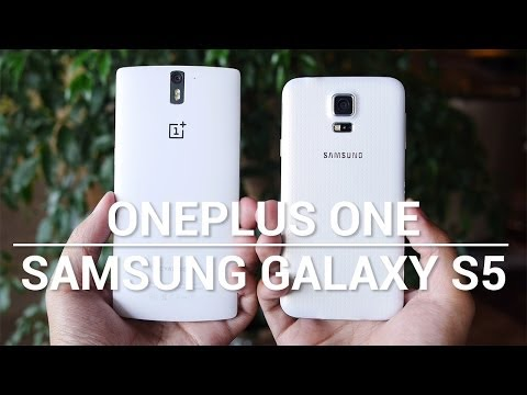 samsung - Josh puts the much hyped OnePlus One up against the Samsung Galaxy S5. Music by Leandro Pulmones http://www.soundcloud.com/leandropulmones Subscribe to our YouTube channel: http://www.youtube.com...