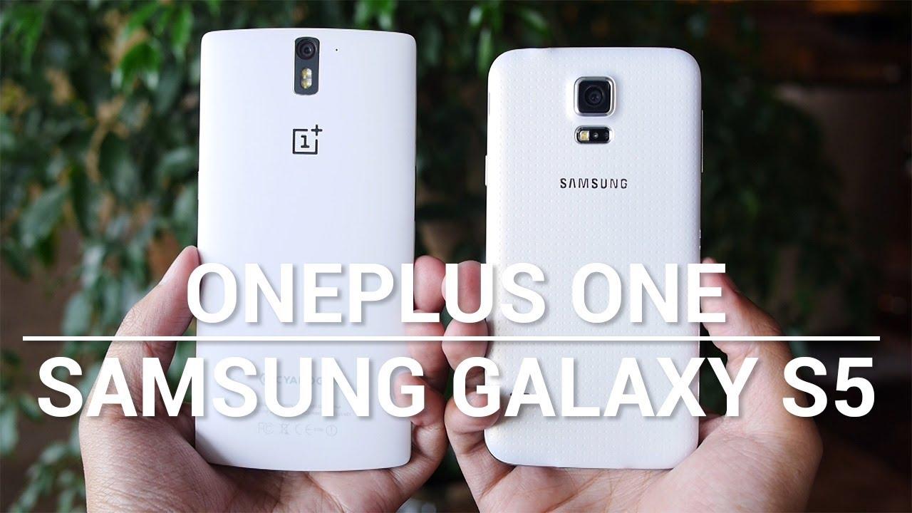 OnePlus One vs Samsung Galaxy S5 – Quick Look