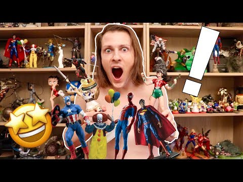 33 NOUVELLES FIGURINES ! ASSASSIN'S CREED SPIDERMAN ZELDA ENORME COLLECTION !