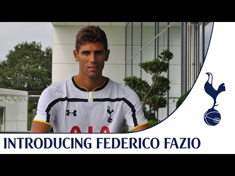 Video: Federico Fazio's first day at the Training Centre