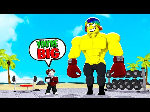 HE WAS THE STRONGEST BOXER, SO I HAD TO BECOME #1.. (Roblox)