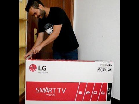 LG Smart TV LG 43LH590 Unboxing Video