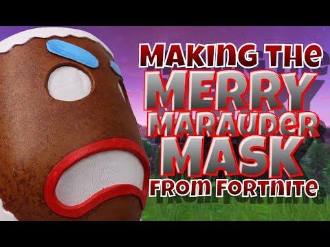 Making the Merry Marauder from Fortnite