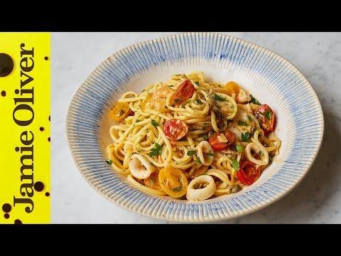 JAMIE'S SPECIALS | Seafood Linguine | Jamie's Italian