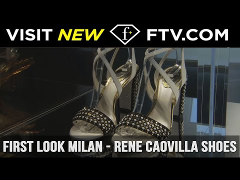 First Look Milan Full Report - Rene Caovilla Shoes | FashionTV