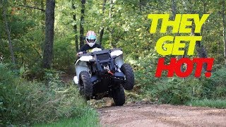 10. Polaris Sportsman 570 - They Get Hot!