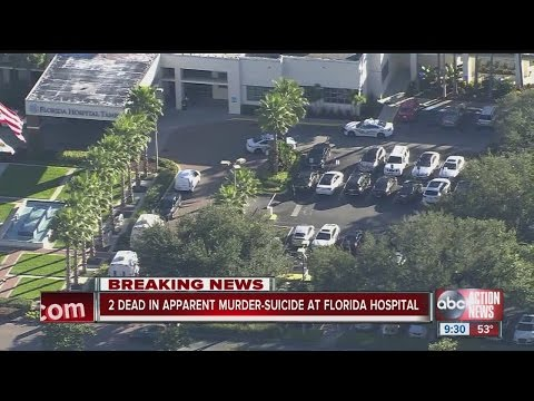 9:30 UPDATE: Woman shot and killed inside Florida Hospital Tampa during apparent murder-suicide