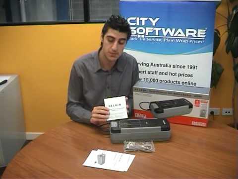 City Software Belkin 600VA UPS Video Demonstration